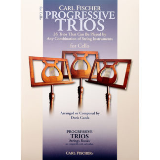 Progressive Trios for cello Carl Fischer