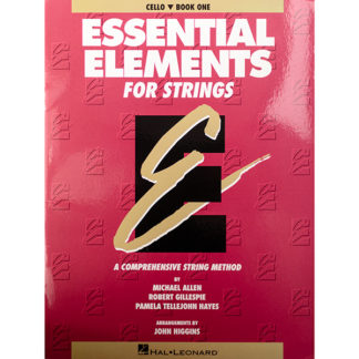 Essential Elements for Strings Cello Book one 1