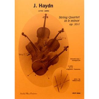 J. Haydn String Quartet in b minor op. 33:1