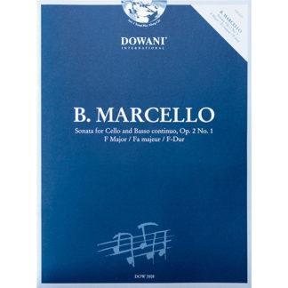 B. Marcello Sonata for Cello and Basso continuo, Op. 2 No. 1 F Major