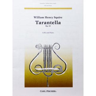 Tarantella Op. 23 for Cello and Piano W.H. Squire