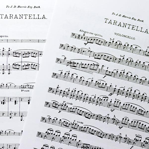 Cellowinkelnl Tarantella Op23 Cello And Piano Wh Squire