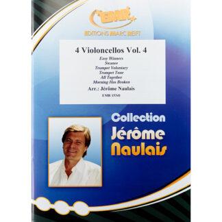 4 Violoncellos Vol. 4 arr. Jérôme Naulais