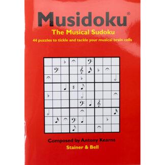 Musidoku The Musical Sudoku 44 puzzles muziekpuzzle