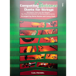 Compatible Christmas Duets for strings - cello editie