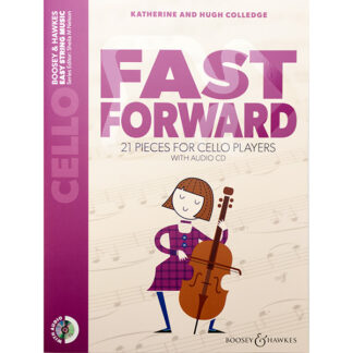 Fast forward 21 pieces for cello players met CD