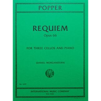 Requiem Opus 66 Popper voor drie cello's en piano