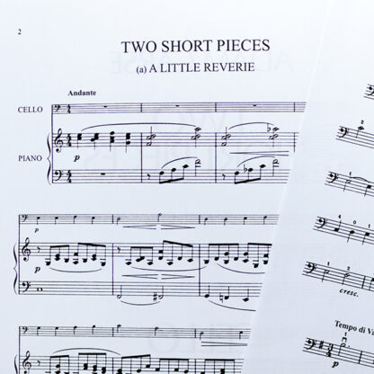 Adam Carse Two Short Pieces for cello and piano