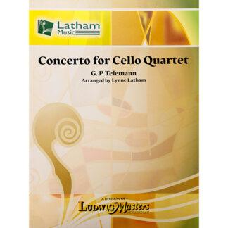 G.P. Telemann Concerto for Cello Quartet