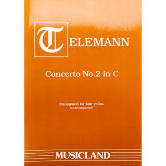 Telemann Concerto No. 2 in C 4 celli