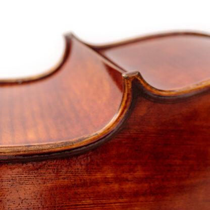 Detail zijblad Cello Allievo