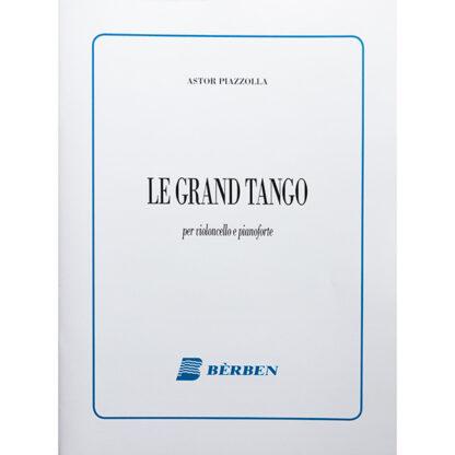 Astor Piazzolla Le Grand Tango Cello en Piano