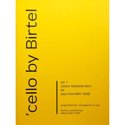 Bach Air BWV 1068 Cello Kwartet 4 celli