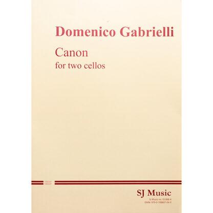 Domenico Gabrielli Canon for two cellos