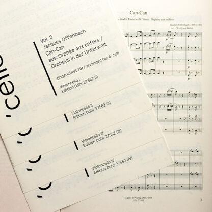 Offenbach Can-Can Cello Kwartet