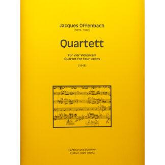 Offenbach Quartett für vier Violoncelli Cellokwartet