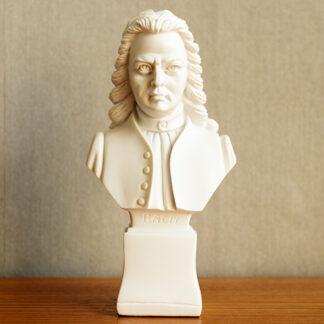 Borstbeeld J.S Bach beeldje ornament
