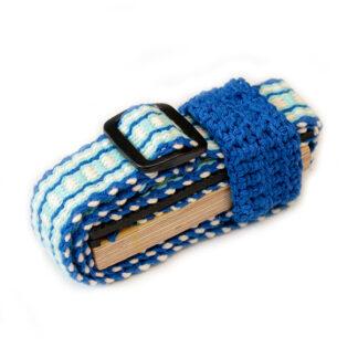 Celloplankje Lenian blauw, lichtblauw, wit