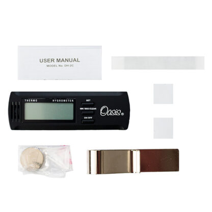 Digitale thermometer en hygrometer