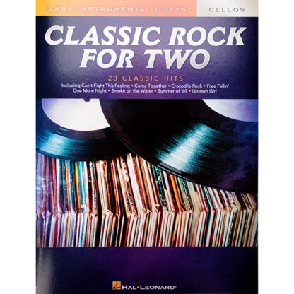 Classic Rock for two cellos 23 classic hits easy duets