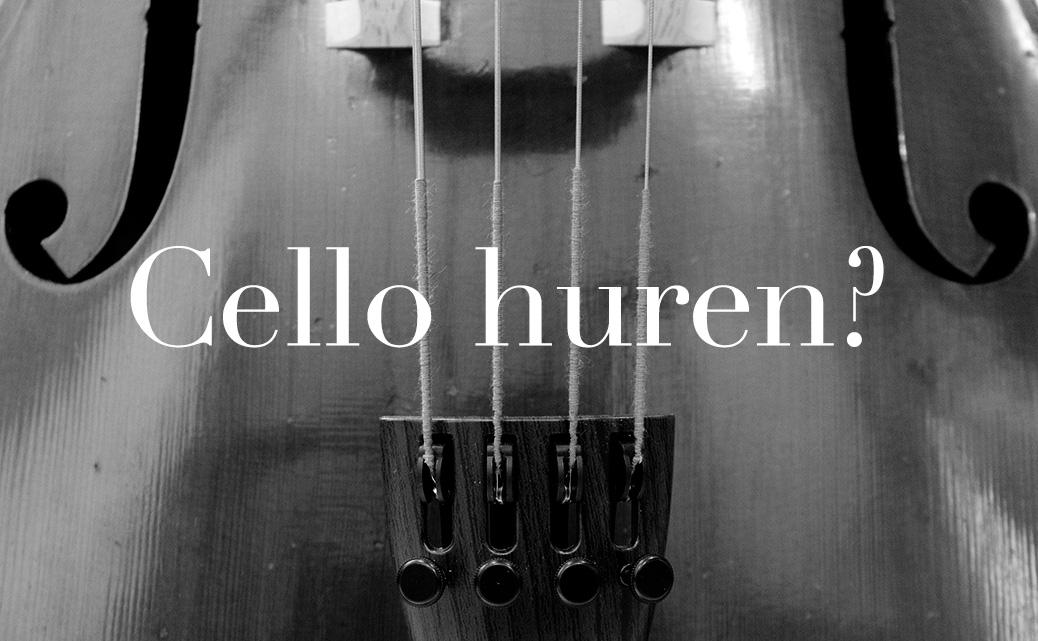 Cello huren verhuur cellos celli huurcello celloverhuur.nl