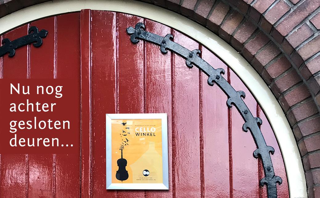 Cellowinkel Dieren nieuwe winkel voor cellisten