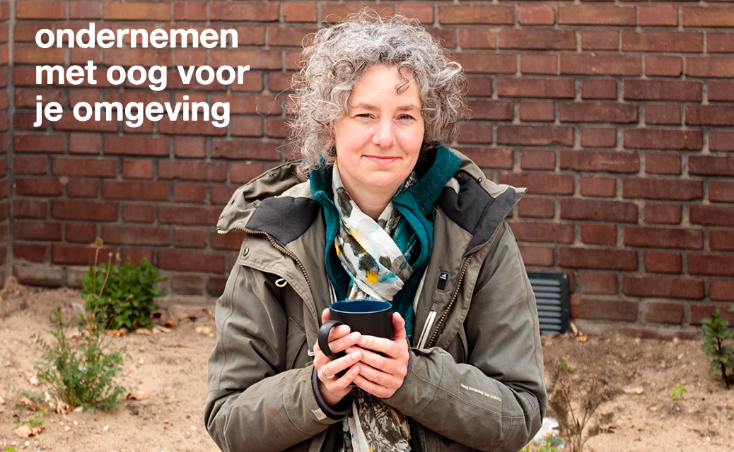 Mirjam Daalmans, eigenaresse Cellowinkel Dieren milieuvriendelijk ondernemen