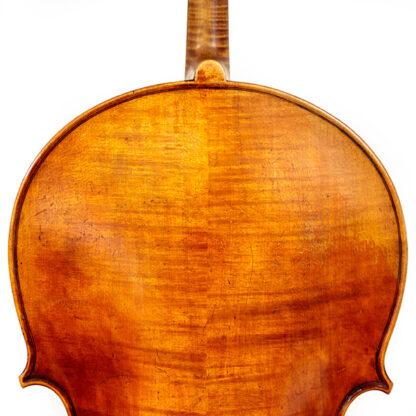 19e eeuwse Duitse oude cello schouders