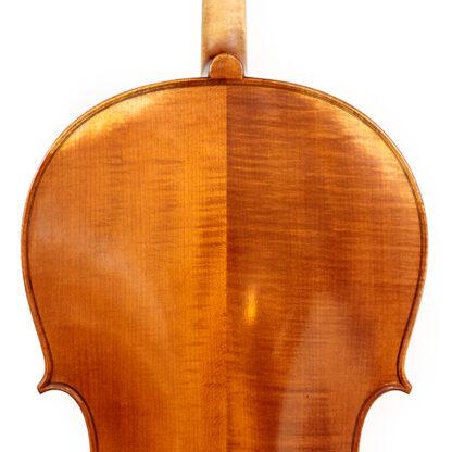Schouders en schaduwen Anticky cello Praag Tsjechie Antique finish
