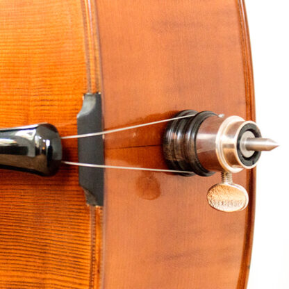 Cellopin Anticky cello Praag Tsjechie Antique finish