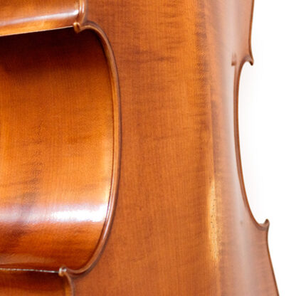 Welving achterblad Anticky cello Praag Tsjechie Antique finish