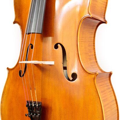 Cello Heinrich Gill W3 Gofriller model aanzicht kam