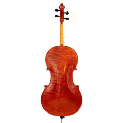 Achterkant Kantuscher Mittenwald 1974 cello