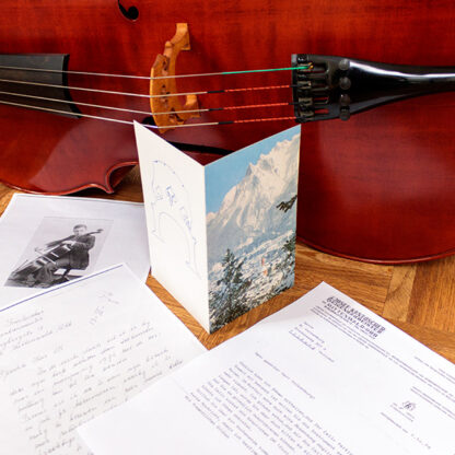 Documentatie Kantuscher Mittenwald 1974 cello