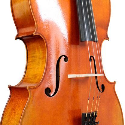 Zijaanzicht Cello La Lutheri d'Art Stradivarius Antique model