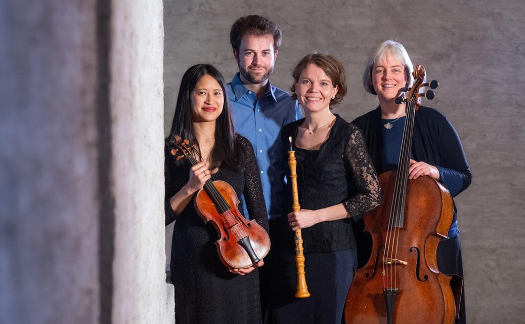 Giardino Musicale treedt op in de concertzaal van de Cellowinkel in Dieren