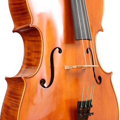 Zijaanzicht Cello Sergio Scaramelli 2020