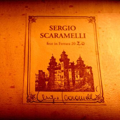 Etiket label Cello Sergio Scaramelli 2020