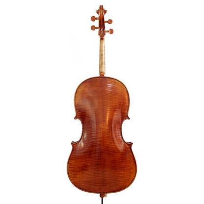 Achterkant Cello Thorsten Theis 2007 Montagnana model