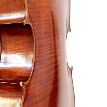 Welving achterblad Cello Thorsten Theis 2007 Montagnana model
