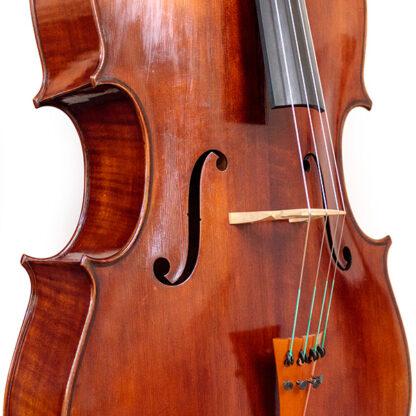 Zijaanzicht Cello Thorsten Theis 2007 Montagnana model