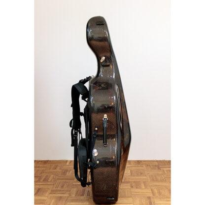Zijaanzicht koffer Cello Thorsten Theis 2007 Montagnana model